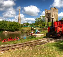 Lappa valley Railway by Rob Hawkins