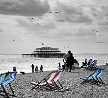 Brighton Seaside by Lisa Williams