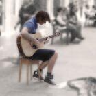 _el cantor de sueños ambulantes by Justo Morales