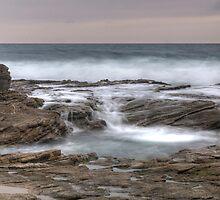 Ocean Waterfall by Eddie Yerkish