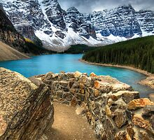 Moraine Lake, Alberta by Mike Traynor Photography