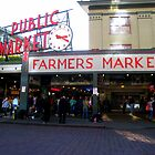 Pike Place Market, Seattle by Cristy Warnock