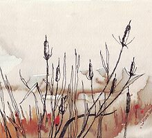 Shadows in the Bulrushes by Maree Clarkson