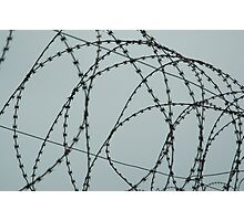 Wire at Robben Island #2 (Color) Photographic Print