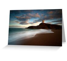 Welsh Waves Greeting Card