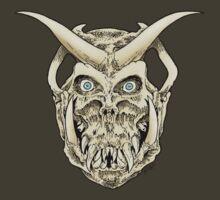 Horned Skull (color) by SCARstudios