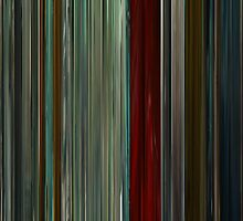 Moviebarcode: The American (2010) by moviebarcode