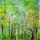 Little Flowering Trees by Regina Valluzzi