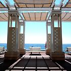 Shadows on the Promenade des Anglais by Andrew Briffett