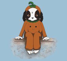 Pumpkin dog by Tunnelfrog
