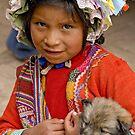 Peruvian girl by Konstantinos Arvanitopoulos