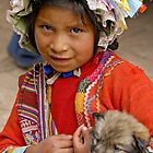 Peruvian girl by Konstantinos Arvanitopoulos
