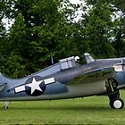 1944 Grumman FM-2 Wildcat by Robert Burdick