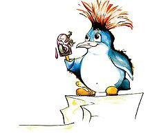 Penguin Punk by TwoShoes