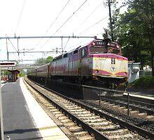1051 MBTA Commuter Rail (INBOUND) by Eric Sanford