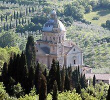 Chiesa di San Biagio-Montepulciano, Italy by John Taylor