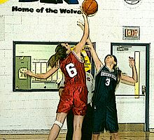 High School Basketball - West Carleton Ontario by Debbie Pinard
