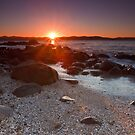 Dixons Beach Sunrise, Taroona,Tasmania #7 by Chris Cobern