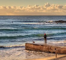 Dee Why Fisherman by Jason Ruth