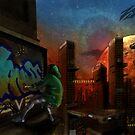 Futuristic city by Aestheticz .