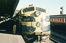 197412990008 S315 heading VR train at Spencer Street Melbourne by Fred Mitchell