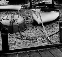 Rowing boats by the Deben by DanStyles