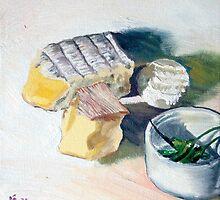 Cheeseboard by Helen Imogen Field