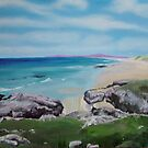 Islay's Singing Sands Beach by Helen Imogen Field