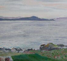 Islay, the sea near Port Charlotte by Helen Imogen Field