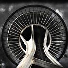 Seattle Space Needle by linaji
