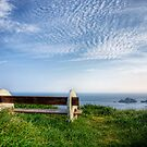 A Seat with a View - Alderney by NeilAlderney