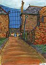 200 - COWPEN QUAY, BLYTH - COLOURED PENCILS - 2008 by BLYTHART
