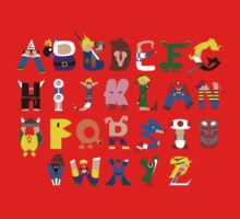 Gamer's Alphabet Kids Clothes