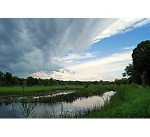 Spring Storm Blowing In Photographic Print