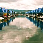 Blue Marina. Lake Coeur D'Alene by xavi8921