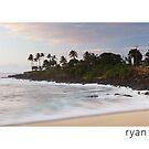 Sunset at Waimea Bay - Oahu, Hawaii by Ryan Epstein