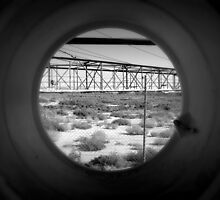 Tunnel Vision to a Desert Future by Ben Loveday