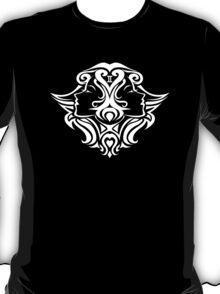 Zodiac Sign Gemini White T-Shirt