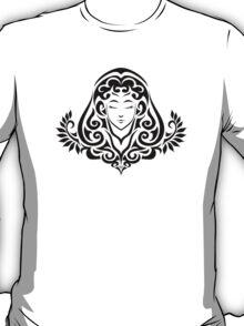 Zodiac Sign Virgo Black T-Shirt
