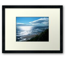 Waters Edge Morning Framed Print