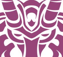 Zodiac Sign Capricorn Violet Sticker