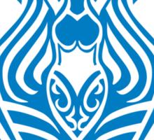 Zodiac Sign Aquarius Blue Sticker