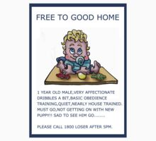 FREE TO GOOD HOME by NHR CARTOONS .