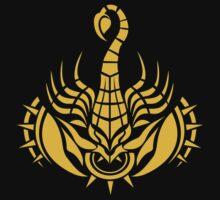 Zodiac Sign Scorpio Gold by elangkarosingo