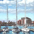 Southampton Ocean Village marina by martyee