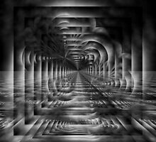 The Tunnel In Trans Dimensional Flux by xzendor7