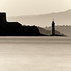 Silver Lighthouse by Aerouan