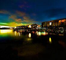 Mabul Island Sunset #2 by Rasfan  Abu Kassim