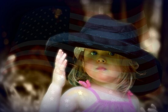 *Saluting our Troops* by DeeZ (D L Honeycutt)