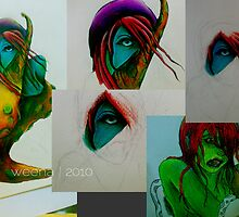 Monstah_ColorPencil by wengjunior